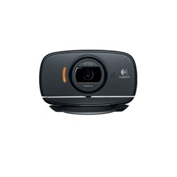 Logitech B525 HD Webcam 2MP 720p MSLync USB black for Business
