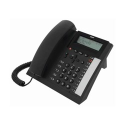 Tiptel 1020 anthrazit analoges Komforttelefon